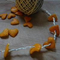 Karácsonyi füzér villámgyorsan narancs- vagy mandarinhéjból: ezt ki kell próbálnod! :-)