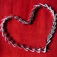 Szív girland Valentin napra és más ünnepekre fél óra alatt
