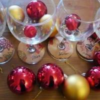 Karácsonyi pohárjelölő nagy vendégjárásokra