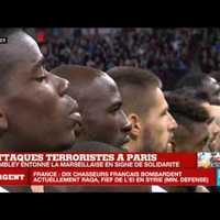 Marseillaise a Wembley-ben