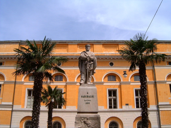 Garibaldi szobor