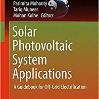 \\IBOOK\\ Solar Photovoltaic System Applications: A Guidebook For Off-Grid Electrification (Green Energy And Technology). Document craft myself Energia Events