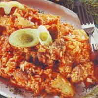 Magyaros rizses ponty