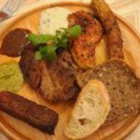 Roston sült kavalkád salátaábrándokkal, mártástengerrel (Rózsa György, Vacsoracsata)