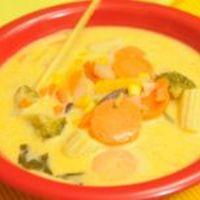 Illatos bambuszrügy leves (Falusi Mariann, Vacsoracsata)