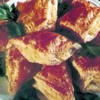 Krumplis-túrós háromszögek