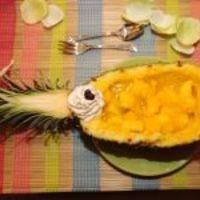 Meleg mediterrán gyümölcssaláta (Zoltán Erika, Vacsoracsata)