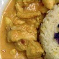 Indiai szárnyaspörkölt bográcsban basmati sáfrányrizzsel (Rippel, Vacsoracsata)