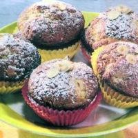 Almás-mogyorós muffin