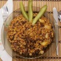 Tarhonyás hús kovászos uborkával (Jáksó László, Vacsoracsata)