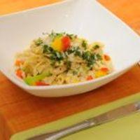 Tejszínes-mustáros pulyka olasz tésztával (Kovács Ági, Vacsoracsata)