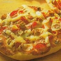 Gombás mini pizza