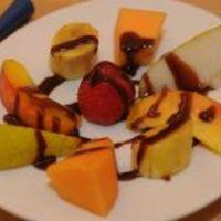 Csokifondü csábító gyümölcsökkel (Rózsa György, Vacsoracsata)