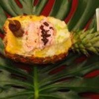 Trópusi sült ananász fagylalttal (Bárdosi Sándor, Vacsoracsata)