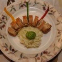 Trikolor csirke krumplipürével (Péter Szabó Szilvi, Vacsoracsata)