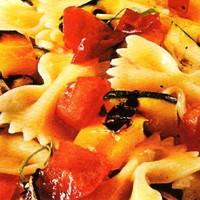 Masnitészta sült zöldségekkel