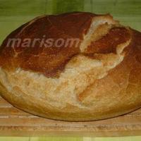 Tönkölyös kovászos kenyér marisom módra..
