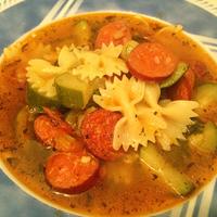 Fűszeres cukkini leves