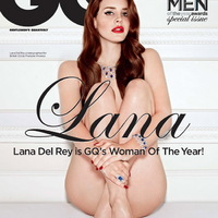 Lana Del Rey pucéran a címlapon