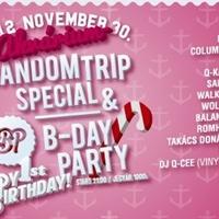 Az Akvárium pénteki programajánlója: Random Trip Special & BP B-Day Party