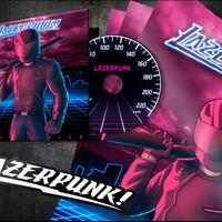 Lazerpunk!, a synthwave magányos motoros hőse - interjú és albumpremier