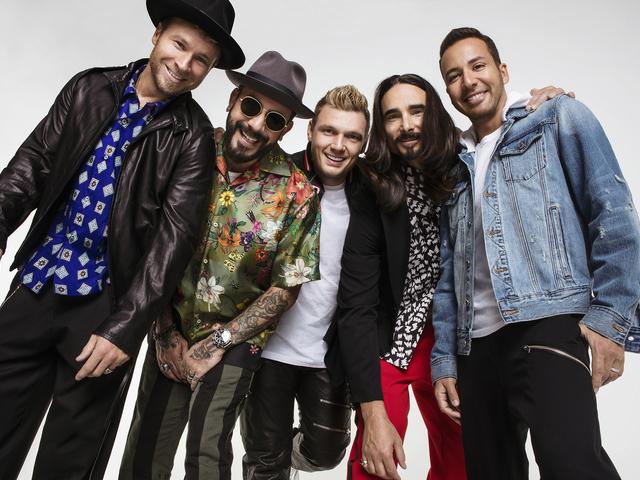 Ma este Backstreet Boys a Sportarénában!