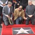 Snoop Dogg csillagot kapott a Hírességek sétányán, és meg is köszönte Snoop Doggnak