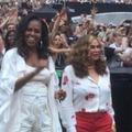 Amikor Michelle Obama az első sorból csápolt Beyoncénak