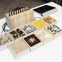 Különleges interaktív installáció – Telekom Electronic Beats Exhibition Budapest 2015