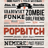 Recorder 005 Party – Edda-dokumentumfilm, Grabowsky, Zombie Girlfriend DJ set, Popbitch