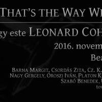 Ma este Leonard Cohenre emlékeznek magyar zenészek