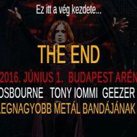 Ma este Black Sabbath a Budapest Arénában