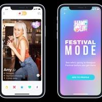 A Tinder még egyszerűbbé teszi a fesztiválos társkeresést