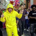 A csúnya gonosz nyúl fantasztikus karneváli hangulatot teremt