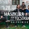 A Recorder bemutatja: a Maszkura és a Tücsökraj dalpremier-koncertje csütörtökön a Muzikumban