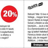 Recorder Pont kupon: kedvezmények a Retrockban!