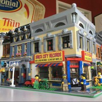 Már a Lego világban is tombol a vinyl-őrület
