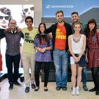 Sikeres MOMENTUM - képriport a Sennheiser budapesti fejhallgató-teszteléséről
