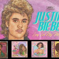 Így nézne ki Beyoncé, Justin Bieber és Taylor Swift a 80-as években!