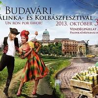 Nyerj páros belépőt a Budavári Pálinka- és Kolbászfesztiválra!