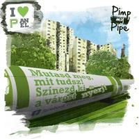 Pimp My Pipe: Újpest térképét festi a Színes Város a FŐTÁV távhővezetékére