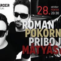 A Recorder bemutatja: Roman Pokorný & Pribojszki Mátyás Band a Muzikumban!