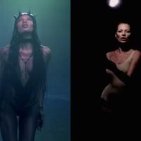 Naomi Campbell és Kate Moss drámai klipes táncpárbaja