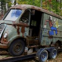 Az erdő mélyéről került elő az Aerosmith első turnébusza