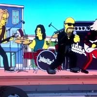 Benézték a Judas Priestet A Simpson családnál, nem maradt el a büntetés