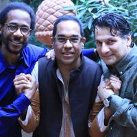 Három tapasztalt jazzmuzsikus, akik mindig számíthatnak egymásra. Danilo Pérez, John Patitucci és Brian Blade a CAFe Budapesten.