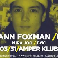 Ma este Kim Ann Foxman a pécsi Amper Klubban!