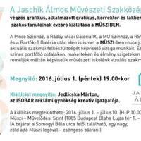 A Müszi heti ajánlója: Jaschik Művészeti iskola kiállítása