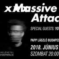 Ma este Massive Attack + Young Fathers a Budapest Sportarénában!