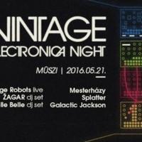 Emlékeztető: ma este Recorder Presents Vintage Electronica Night a Müsziben!